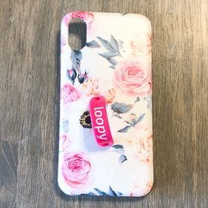 Floral iPhone X Loopy Case